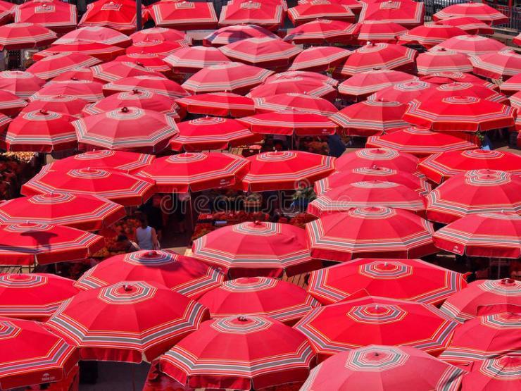 sestine umbrellas